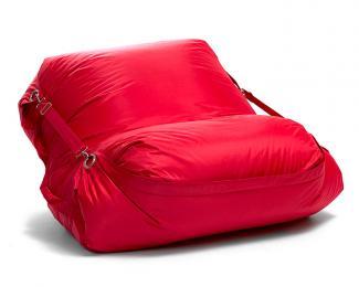 Sedací pytel Omni Bag s popruhy Scarlet Rose 181x141