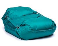 Sedací pytel Omni Bag s popruhy Dark Green 191x141