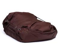 Sedací vak Omni Bag s popruhmi  Chocolate 181x141