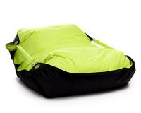 Sedací vak Omni Bag Duo s popruhmi Fluorescent Yellow-Black 191x141