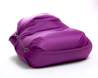 Sedací pytel Omni Bag s popruhy Violet 181x141