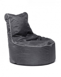 Sedací vak Lounge Omni Bag šedý