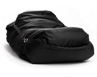 Sedací pytel Omni Bag s popruhy Black 181x141