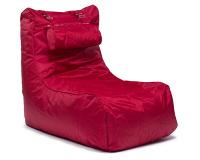 Sedací vak Pillow lounge Omni Bag vínově červený