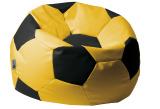 sedací vak EUROBALL velký, SK5-SK3 žluto-černý