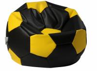 sedací vak EUROBALL velký, SK3-SK5 černo-žlutý