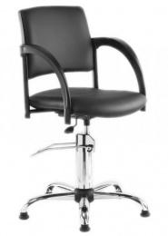 kadeřnická stolička SIGNO hydraulika chrom