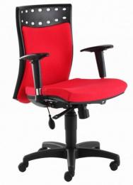 kancelárska stolička OMEGA HP BLACK
