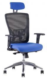 Židle Halia MESH CHR SP - s podhlavníkem