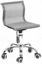 židle KINDER 2, MH-12 černostříbrná kancelárská stolička