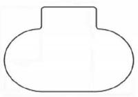 podložka pod SMARTMATT 5300 PHX  - na hladké podlahy (120x150)