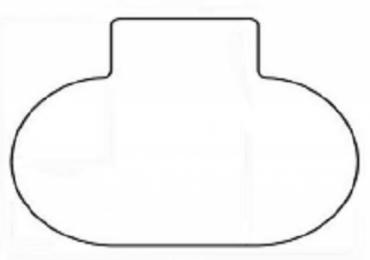 Podložka pod stoličky SMARTMATT 5300 PHX- na hladké podlahy