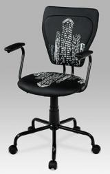 židle KA-T242 BK kancelárská stolička