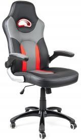 kancelářské křeslo MARANELLO černo-červené kancelárské kreslo