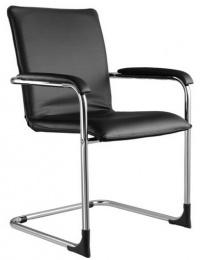 Konferenčná stolička SWING čalúnené lakťové opierky