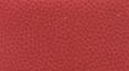 židle FISH BONES PDH šedý plast, červená kůže kancelárská stolička