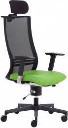 zdravotná balančná stolička X-WING FLEX XL+P BK
