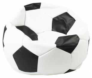 sedací vak EUROBALL MEDIUM, SK2-SK3 bílo-černý