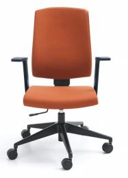 Kancelárska stolička RAYA 23E, čalouněné záda
