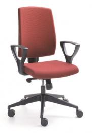 Kancelářská RAYA 23S, čalouněné záda