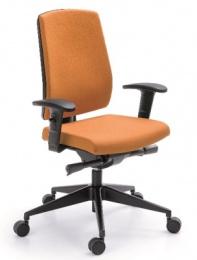 Kancelárska stolička RAYA 23SL, čalouněné záda