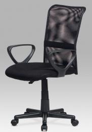 Kancelárska stolička KA-N844 BK