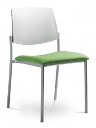 Konferenčná stolička SEANCE ART 180-N1, kostra čierna