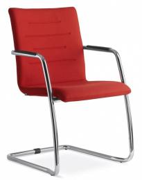 konferenčna stolička OSLO 225-KZ-N4, kostra chrom