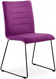 konferenčná stolička OSLO 226-Q-N1, kostra čierna