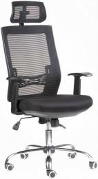 kancelárska stolička MARIKA YH-6068H čierna