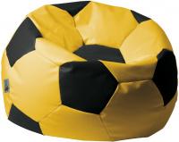 sedací vak EUROBALL MEDIUM, SK5-SK3 žlto-čierny