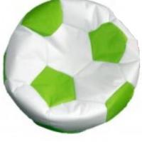 sedací vak EUROBALL velký, SK2-SK11 bílo-sv.zelený