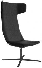 Designové křeslo FLEXI/FL-XL-RA-N1, kříž černý