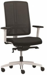 Stolička FLEXI FX 1106, biele prevedenie
