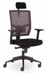 židle ANDY s podhlavníkem černá AN 833 kancelárská stolička