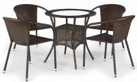 skleněný stůl MIDAS
