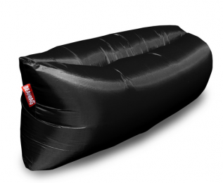 Inflatable sedací vak black