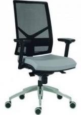 židle 1850 SYN OMNIA ALU, látka ZELENÁ kancelárská stolička