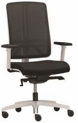 Židle FLEXI FX 1104, bílé provedení