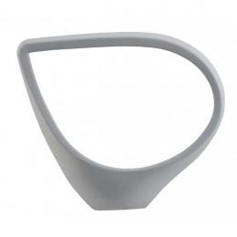 plastové područky P34S pevné FUXO,šedé - pár