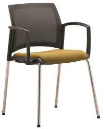 stolička EASY PRO EP 1222, kostra čierna