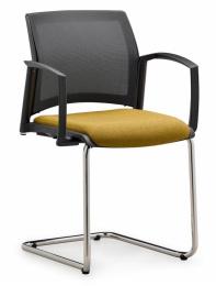 stolička EASY PRO EP 1224, kostra čierna