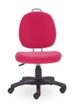 Dětská rostoucí židle CRAZY - růžová