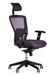 kancelárska stolička  MAGNOLIE 5688A s podhlavníkem ČERNÁ