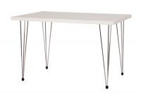 Jídelní stůl VAVŘINEC,chrom.nohy 80x120 S148