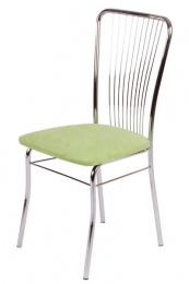 jedálenská stolička chromovaná LAURA Z60