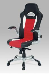 Herní kancelářské křeslo KA-E240B RED