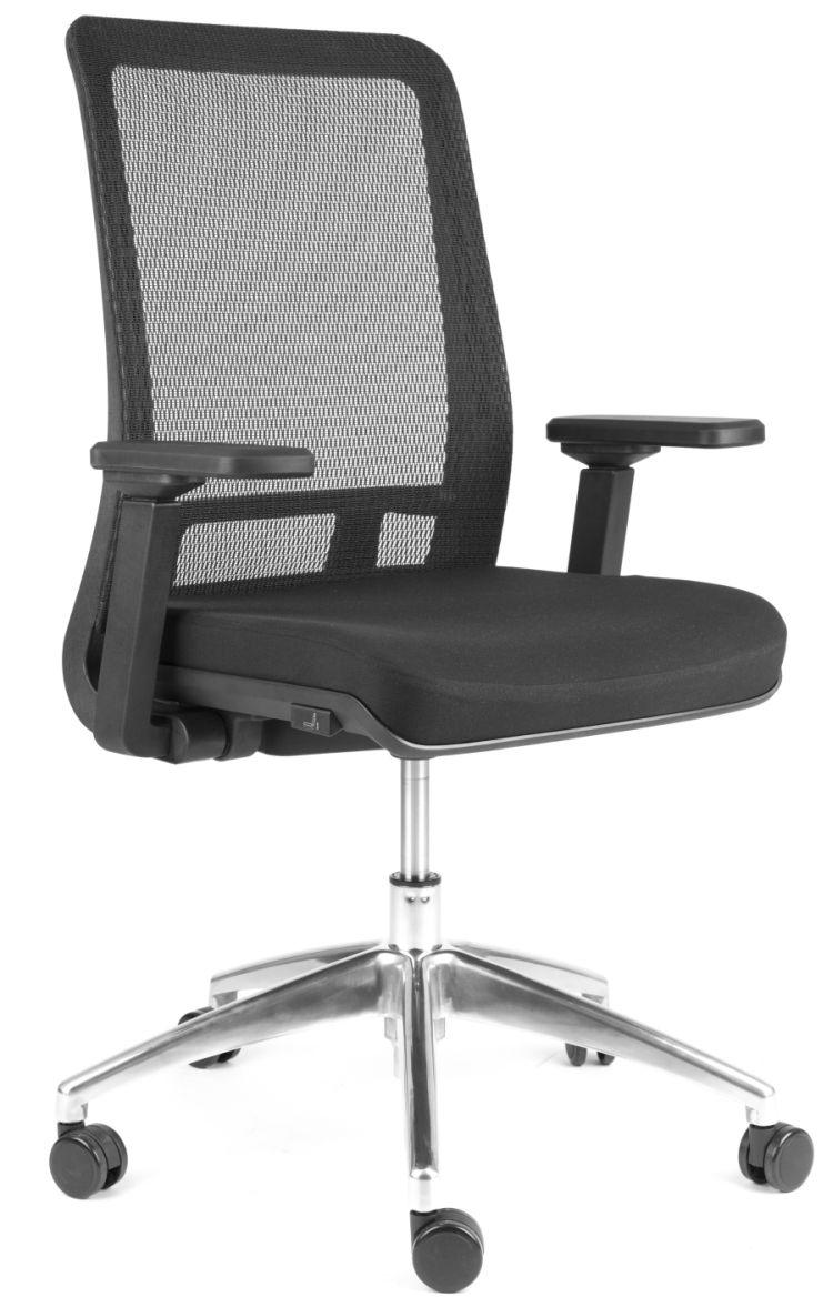 židle SHIFTER černá kancelárská stolička