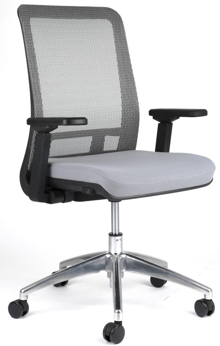 židle SHIFTER šedá kancelárská stolička