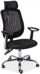 kancelárska stolička Q118 čierna